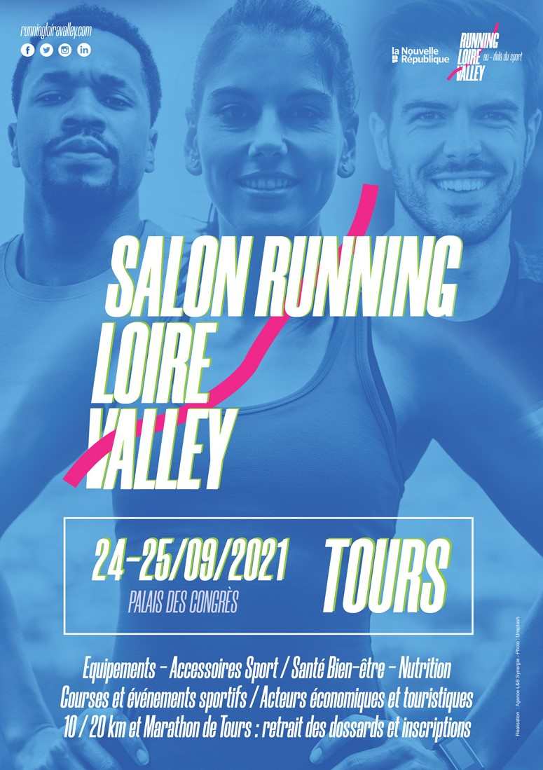 Salon running loire valley  septembre 2021 tours